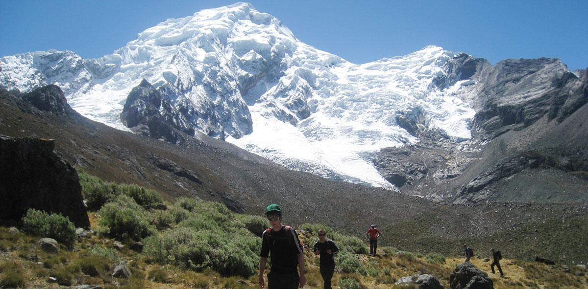 quebrada- quilcayhuanca-trek