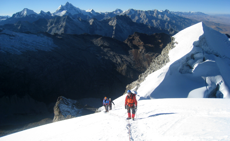 Nevado Vallunaraju Mountain Climb