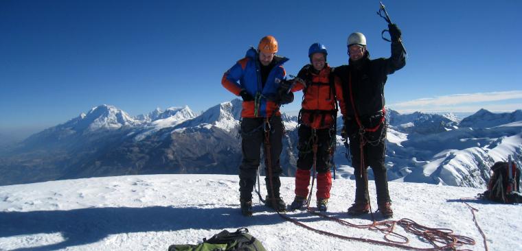 Vallunaraju Mountain Climbing