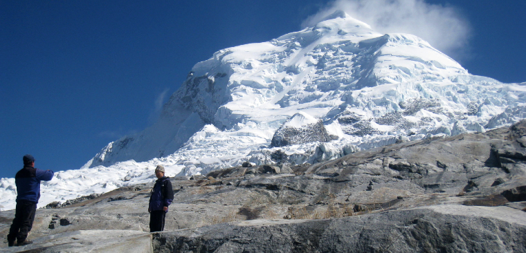 nevado huascaran mountain climbing