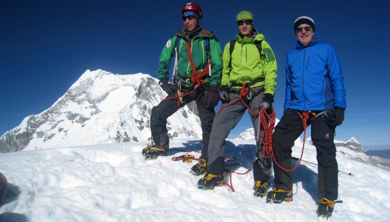 nevado ishinca mountain climb