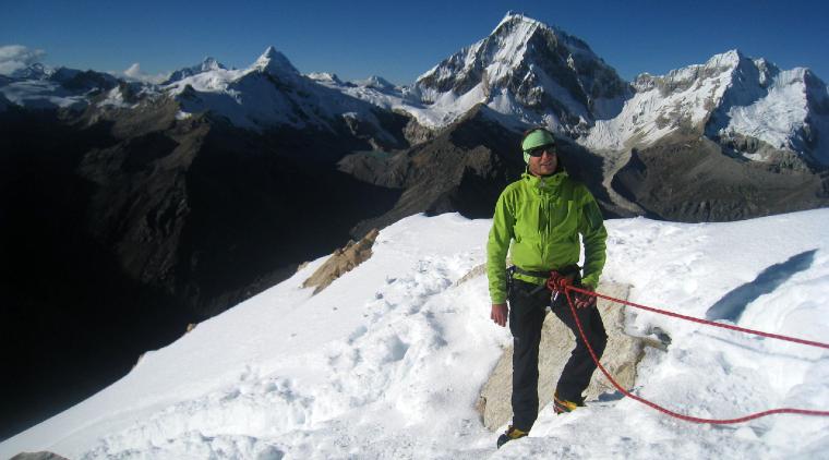 nevado urus mountain climb